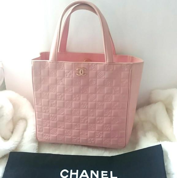 fe8760cdab96db CHANEL Bags | Authentic Precious Symbols Pink Tote | Poshmark